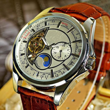 Watch Hot Sale Stainless Steel Band Men Watch [9532097351]