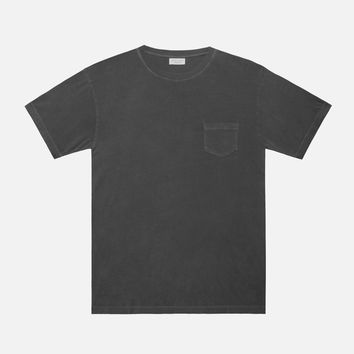 Oversized Pocket Crew / Black