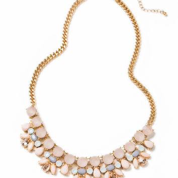 Emily Pastel Statement Necklace