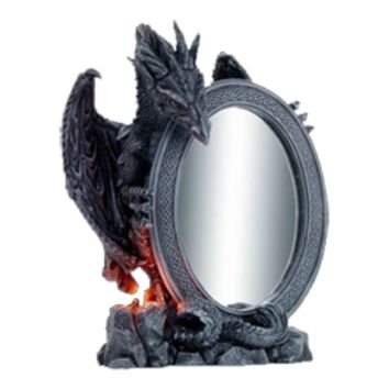 Dragon Mirrors, Dragon Wall Mirrors and Medieval Dragon Mirrors from Dark Knight Armoury