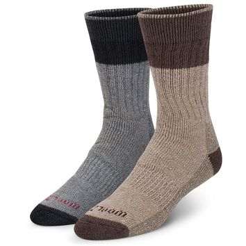 Wool IQ 2-pk. Merino Wool-Blend Boot Socks - Men