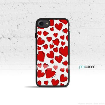 Love Hearts Phone Case Cover for Apple iPhone iPod Samsung Galaxy S & Note