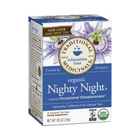 Traditional Medicinals Organic Nighty Night Tea - Caffeine Free - 16 Bags