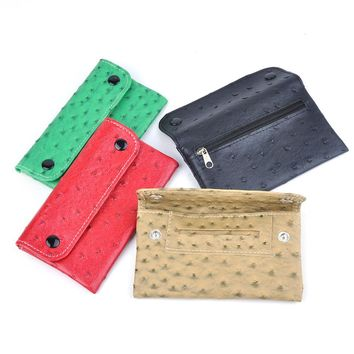 Polyurethane Tobacco Pouch With 78 MM Paper Holder Tobacco Bag