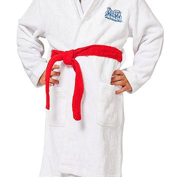 Intimo Kids' Frosty The Snowman Hooded Plush Robe
