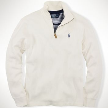French-Rib Half Zip