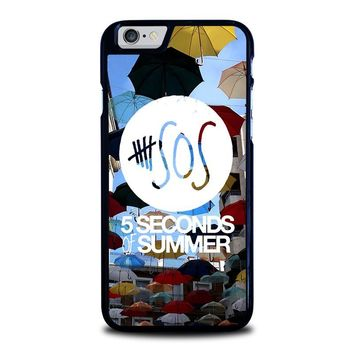 5 SECONDS OF SUMMER 4 5SOS iPhone 6 / 6S Case Cover