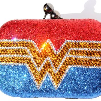 Wonder Woman Crystal Clutch