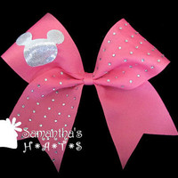 Disney Inspired Custom Cheerleader Competition Cheer Bow