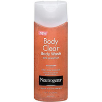 Neutrogena Body Clear Body Wash, Pink Grapefruit, 8.5 Ounces (Pack of 3)