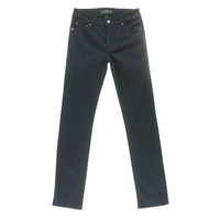 LRL Lauren Jeans Co. Womens Heritage Denim Slimming Colored Skinny Jeans