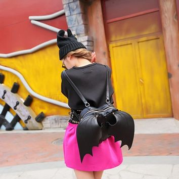 Black Bat Wings Backpacks
