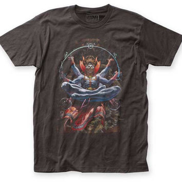 Marvel Comics Dr. Strange Levitation Retro Adult T-Shirt