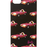 FOREVER 21 Barbie Drop-Top Phone Case Black/Pink One