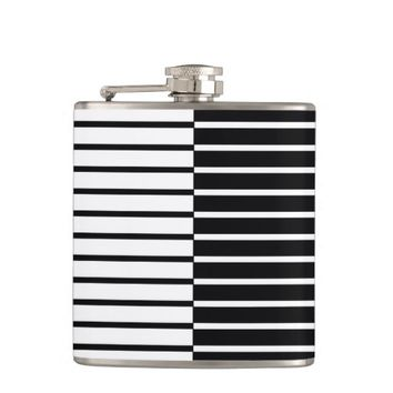Zebra Plays Piano - Flask