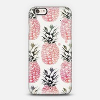 Pink Pineapples iPhone 6 case by Zuhre | Casetify
