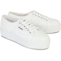 Superga Flatform Canvas Trainers