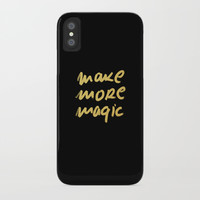 make more magic iPhone Case by Printapix