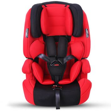 9-36Kg Protection Child Cushions In Car Safety Infant Baby Car Seats For 9M~12Y Kids Five-Point Harness Siege Auto Enfant In Car