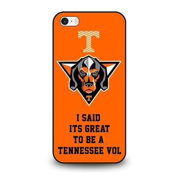 TENNESSEE VOLUNTEERS VOLS iPhone SE Case Cover