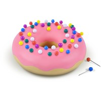 Desk Donut Push Pins Holder