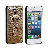 Han Solo Frozen Star Wars iPhone 4 5 6 Samsung Galaxy S3 4 5 iPod Touch 4 5 HTC One M7 8 Case