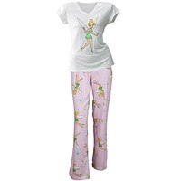 Tinkerbell - Fairy Magic Juniors V-Neck Pajama Capri Set