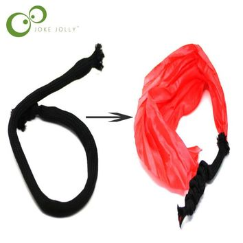 1pcs Rope to Silk close up Magic Tricks kids toy magicians sihir mentalism illusion as seen on tv tour de magie stage street S19