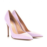 gianvito rossi - leather pumps