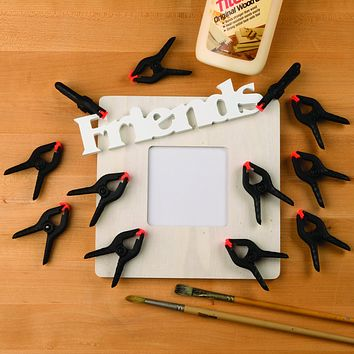 Evelots Spring Clamps-Ergonomic-Strong Sturdy Nylon-Arts & Craft/Fabric