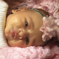 Baby Girl Portrait 389