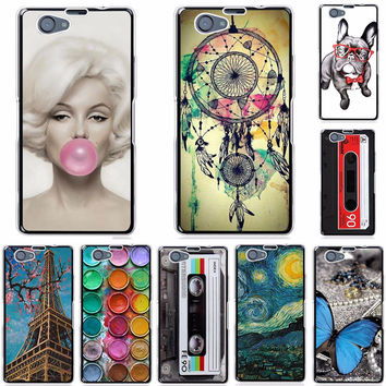 Cool Fashion TPU Case For Sony Xperia Z1 Compact Z1 Mini D5503 M51W Soft Silicone TPU Phone Case For Sony Xperia Z1 Compact Case
