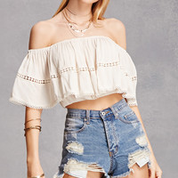 Off-the-Shoulder Flounce Top