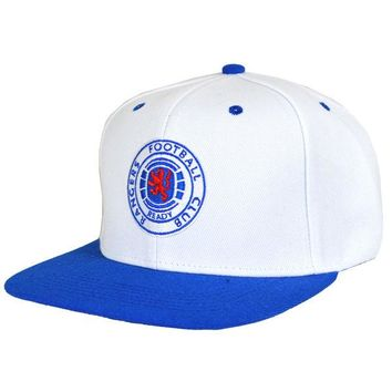 Rangers FC Snapback Cap Baseball Hat Fun New Official Licensed Football Product