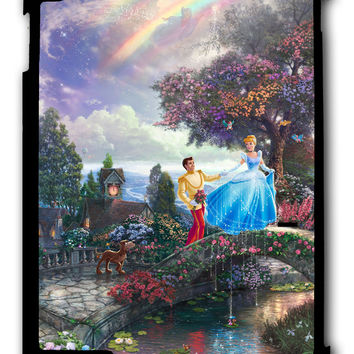 Thomas Kinkade'S Disney Paintings Ipad Case, Available For Ipad 2, Ipad 3, Ipad 4 , Ipad Mini And Ipad Air