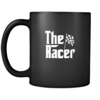 Car Racing The Racer 11oz Black Mug