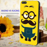 Despicable Me Minion Yellow Mustache for iphone, samsung galaxy and ipod case