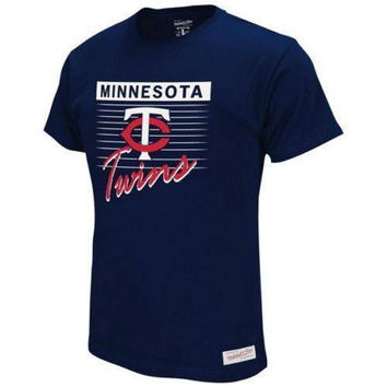 Minnesota Twins MLB Mitchell & Ness t-shirt NWT new with tags Baseball Twinkies