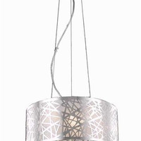 Heloise - Hanging Fixture (3 Light Contemporary Crystal Pendant) - 1767D14