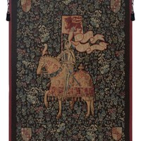 Le Chevalier European Tapestry Wall Hanging