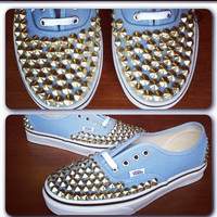 Studded Vans Shoes by csrclothing on Etsy