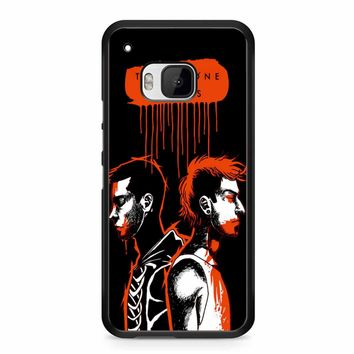 Twenty One Pilots Josh Dun And Tyler Joseph HTC M9 Case