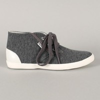 Quick-05 Fabric Round Toe Lace Up Sneaker
