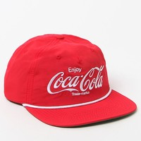 PacSun Coca-Cola Strapback Hat - Mens Backpack - Red - One
