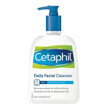 Cetaphil® Normal to Oily Skin Daily Facial Cleanser - 16 fl oz