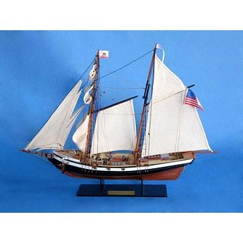 Wooden Californian Model Ship 24""