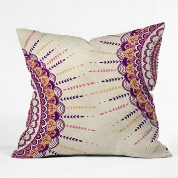 RosebudStudio Be Brilliant Outdoor Throw Pillow