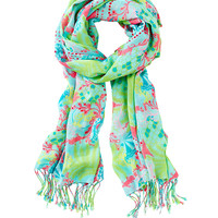 Lilly Pulitzer Printed Lilly Scarf - Checking
