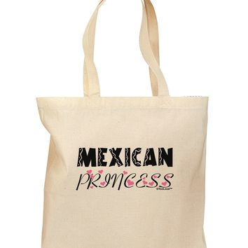 Mexican Princess - Cinco de Mayo Grocery Tote Bag by TooLoud