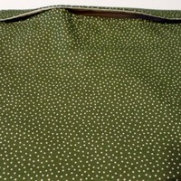 Microwave Cooking Bag Green with Dots